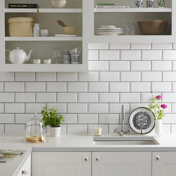 Metro white kitchen