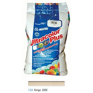 Mapei Ultracolour Plus beige grout