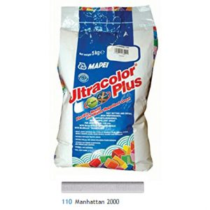 Mapei Ultracolour Plus manhattan grout