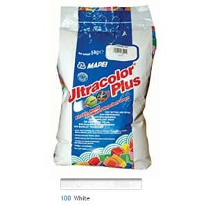 Mapei Ultracolour Plus white grout