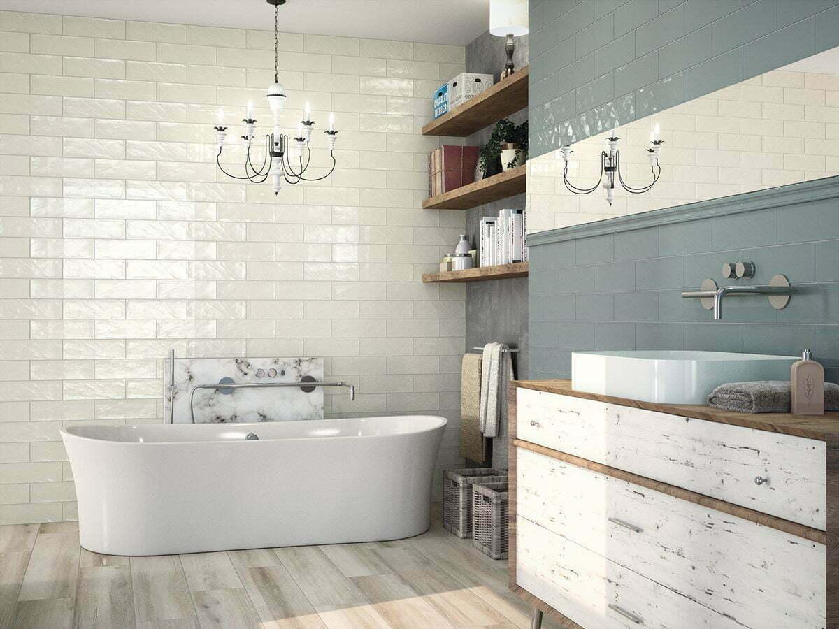 Beautiful Ripple Effect Black Ceramic Wall Tiles Eurotiles And Bathrooms