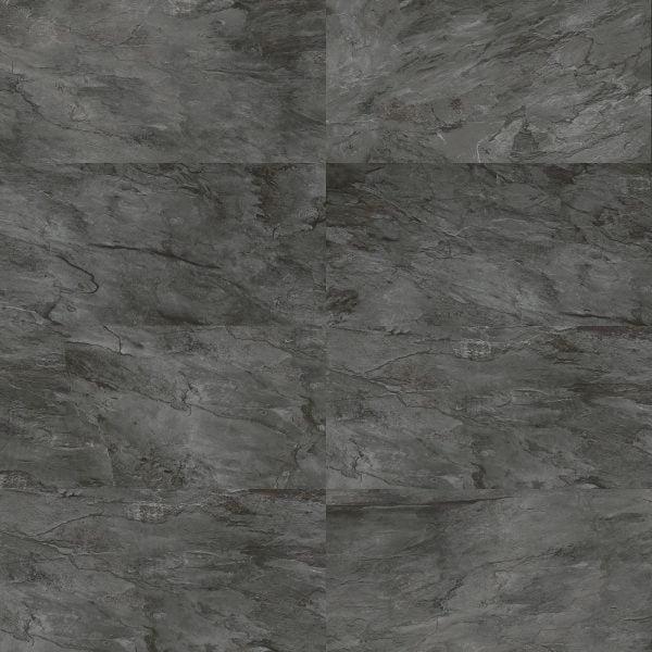 Rochester black plain tiles