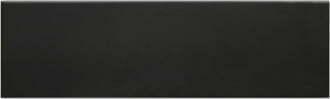 Solid Satin Black 100 x 330mm