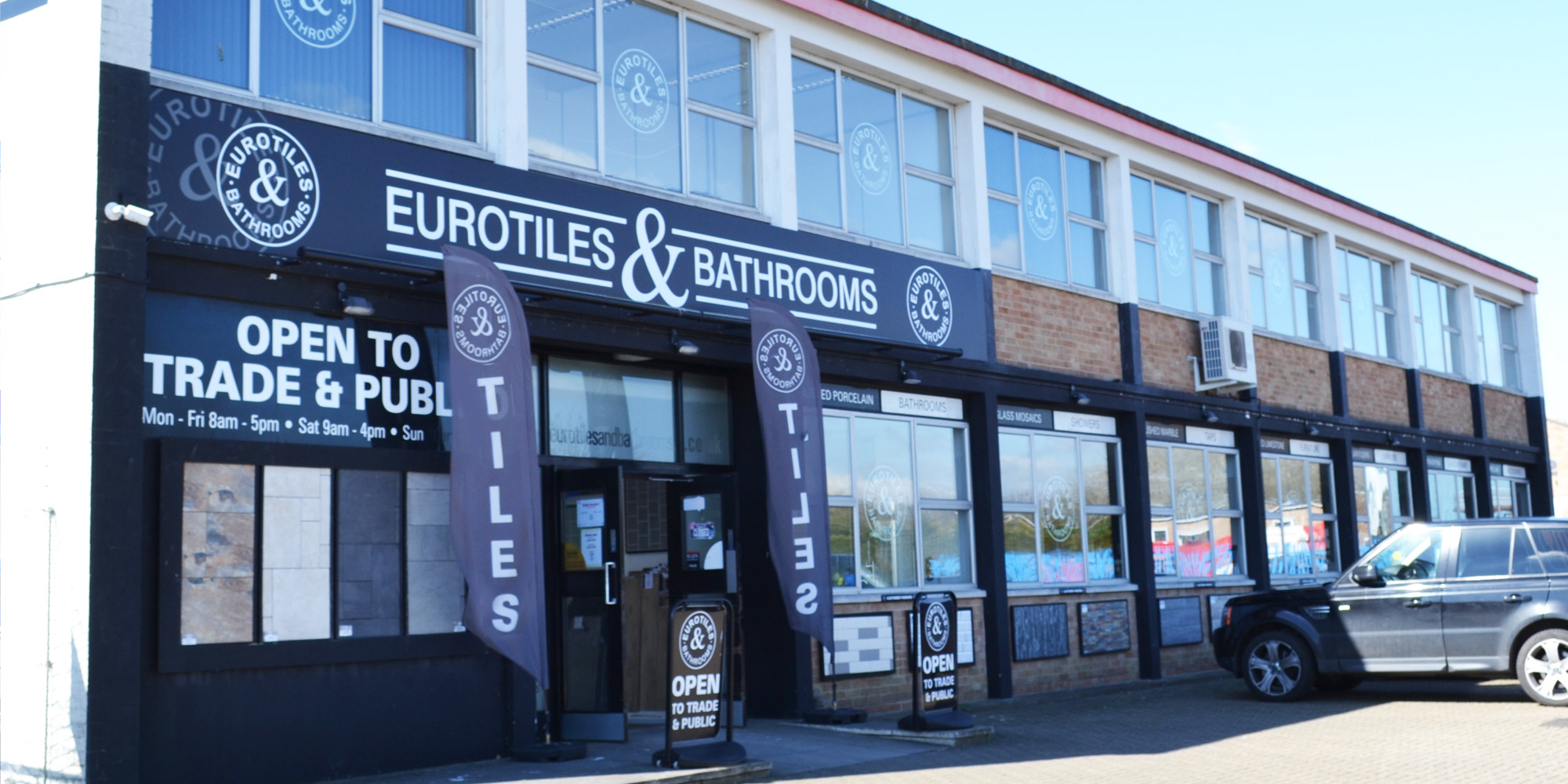 Eurotiles Rustington | Shop Front | Unit F, Brookside Ave., Brookside Ind. Estate, Rustington, BN16 3LF, United Kingdom
