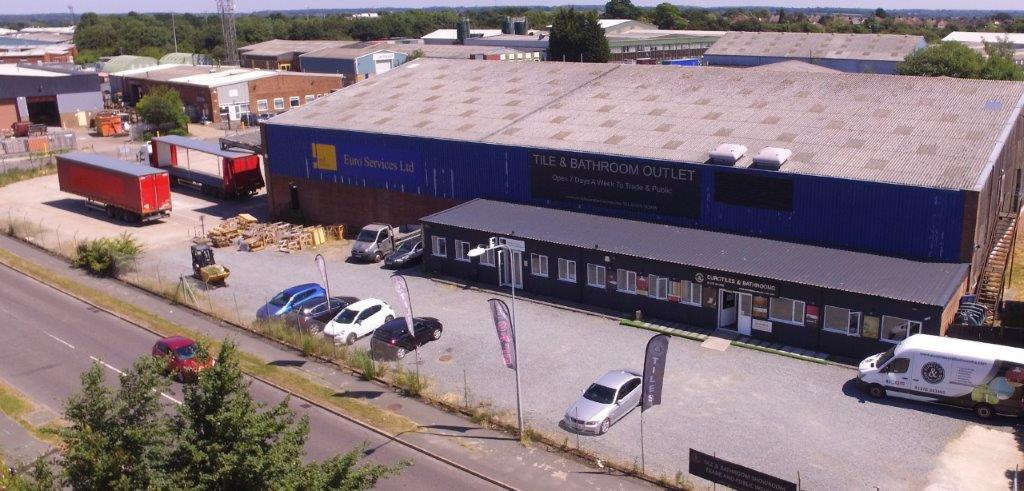 Braintree warehouse and showroom