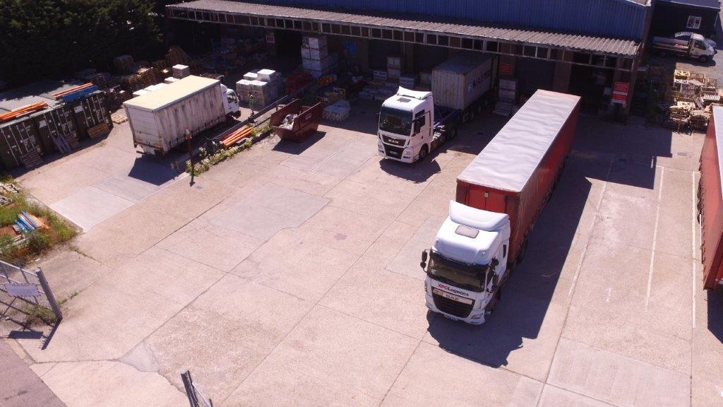 Braintree loading area