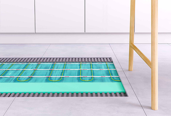 Thermosphere underfloor heating available here.