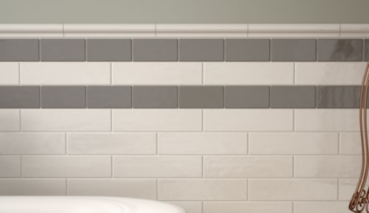 Part Tiled Wall