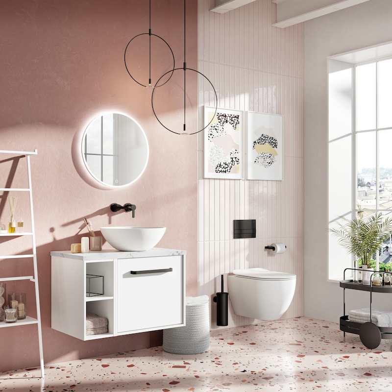 Infinity bathroom suite